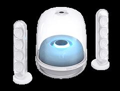 哈曼卡顿 SoundSticks4代 无线水晶蓝牙音箱